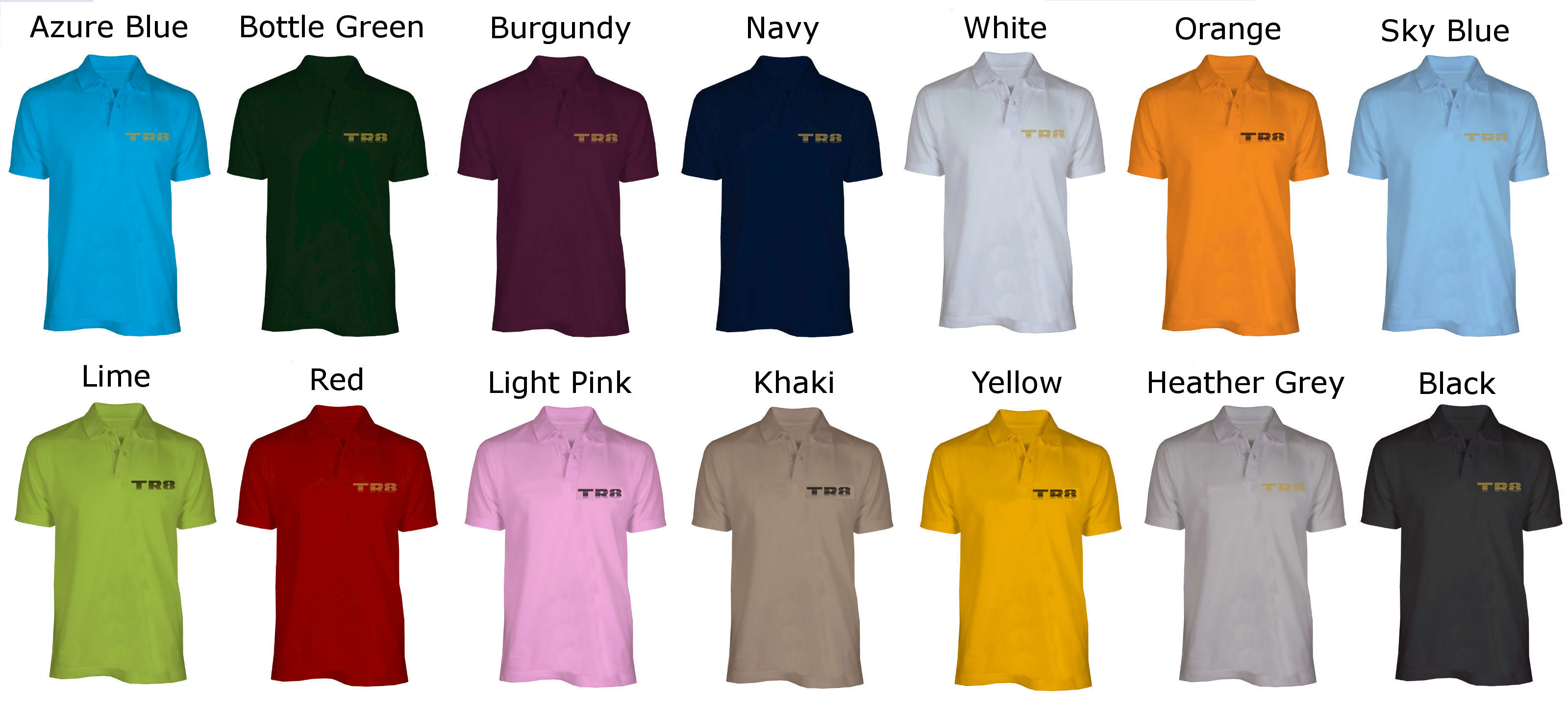 TR8 Polo Shirts Offer